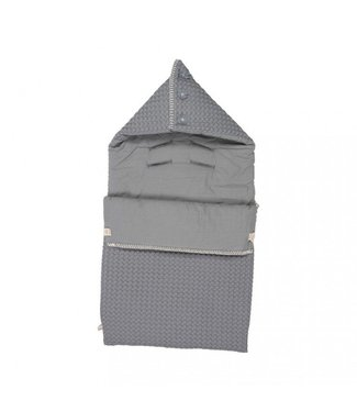 Koeka Koeka Footmuff Antwerp Steel Gray