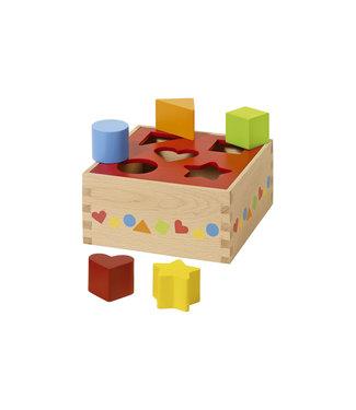 Goki Boîte de tri Goki - Formes diverses