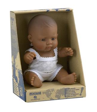 Miniland Miniland poupée bébé fille latino 21 cm