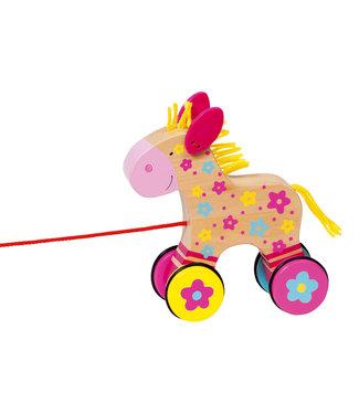 Goki Goki Houten Trekdier - Paard Clara