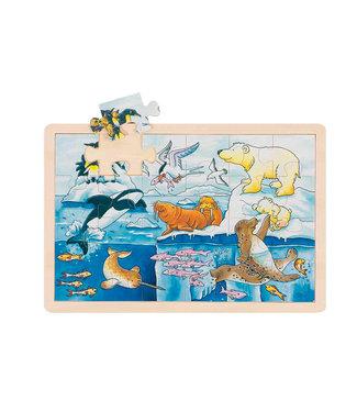 Goki Fenêtre Goki puzzle animaux polaires 24ème