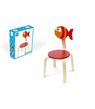 Scratch Chaise haute Scratch Maurice - Vis