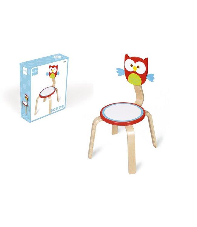 Scratch Scratch kinderstoel Lou - Uil