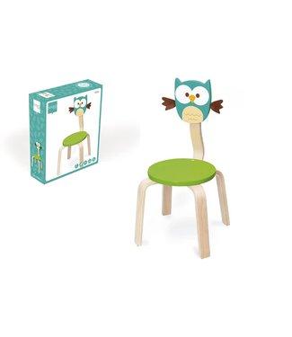 Scratch Chaise haute gratte chouette Lou