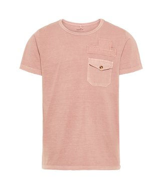Name-it Name it tshirt Fasil Silver Pink