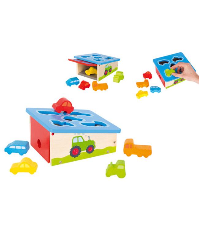 Goki Boîte de tri Goki - véhicules