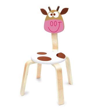 Scratch Chaise haute gratte vache marie