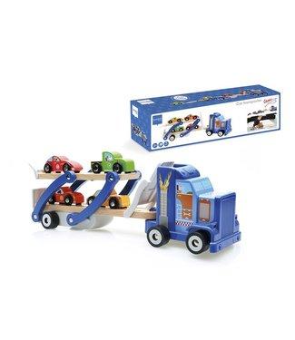 Scratch Scratch houten vrachtwagen contiloop