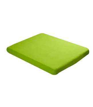 Babybest Babybest fitted sheet terry 60x1205cm lime