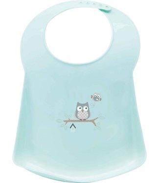 bebe-jou Bebe-jou Plastic bib Owl Family