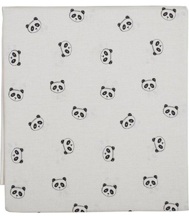 Plum Plum Babygoods Drap Plum Prune Panda 120x150