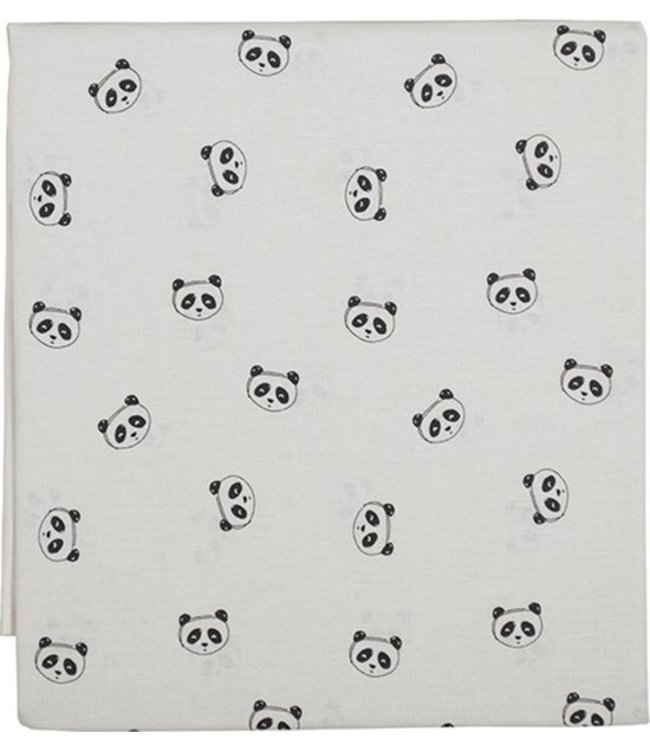 Plum Plum Babygoods Plum Plum bed sheet Panda 120x150