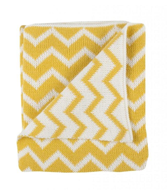Plum Plum Babygoods Plum plum Blanket bed yellow metrics 100x150