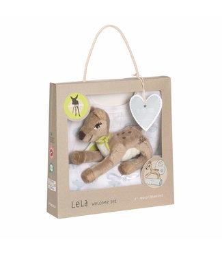 Lassig Lassig baby geschenkset Lela Light Blue