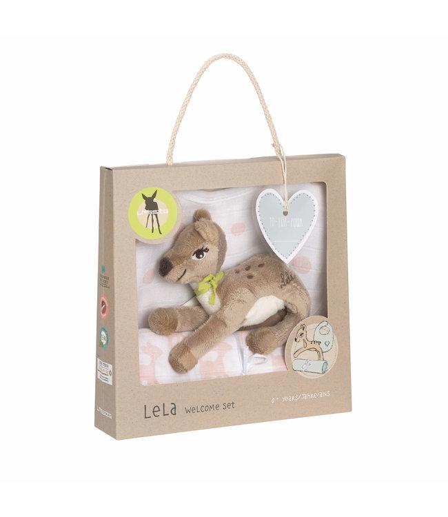 Lassig Lassig baby geschenkset Lela Light Pink