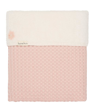 Koeka Couverture de lit de bébé Koeka Oslo bébé rose / galet