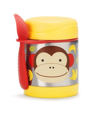 Skip hop Skip Hop food jar thermos monkey