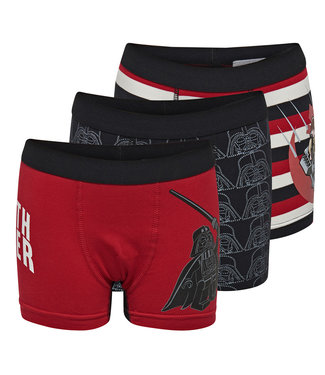 Lego wear Legowear boxer shorts Lego Star Wars - red