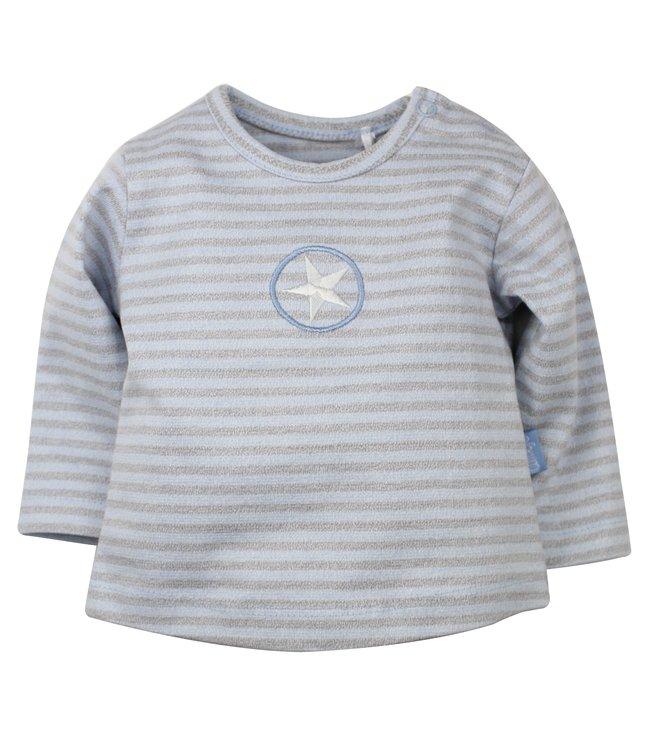 Dirkje kinderkleding Dirkje blue tshirt star