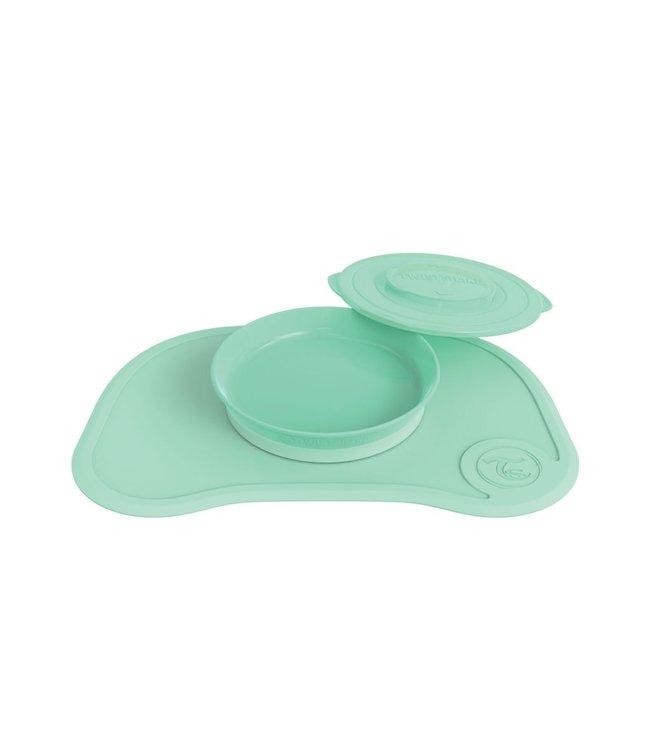 Twistshake Twistshake Click Mat + Plate Pastel Vert