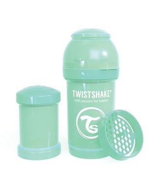 Twistshake TwistShake babyfles antikoliek 180ml - Pastel green