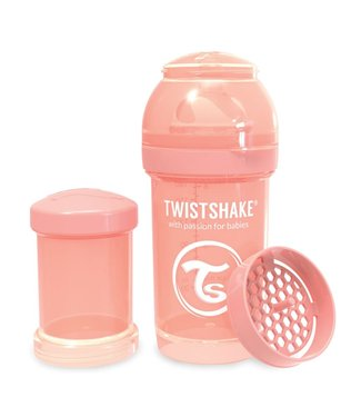 Twistshake TwistShake baby bottle anti-colic 180ml - Pastel peach