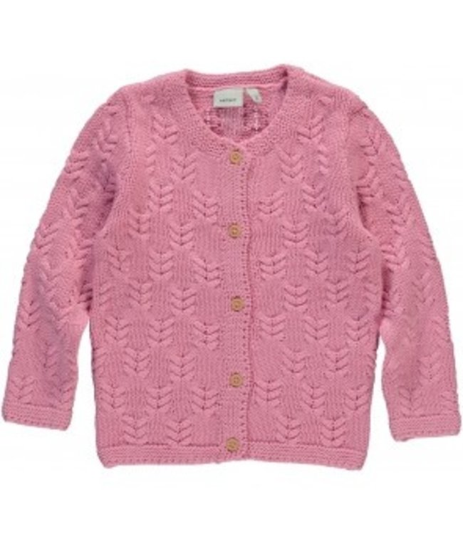 Name-it Name-it pink girls cardigan Kujia