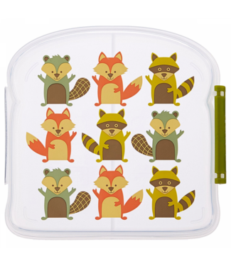 Sugarbooger Sugar booger lunch box Fox
