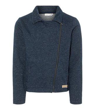 Name-it Name it cardigan bleu fille en sueur Kbrorg