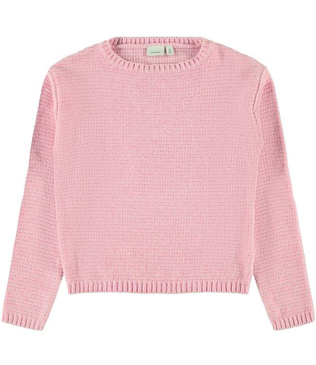 Name-it Name it pink girls sweater Lisia