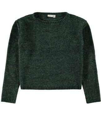 Name-it Name it groene meisjes trui Lisia