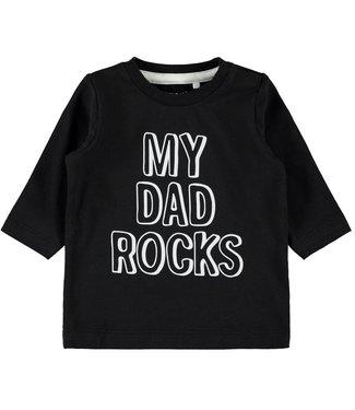 Name-it Name it t shirt Lerock Black