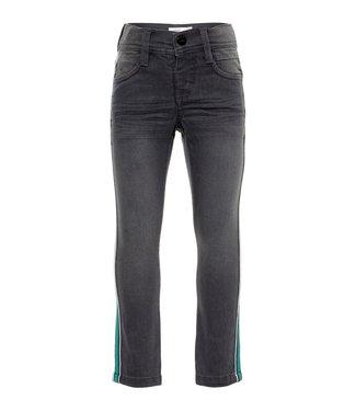 Name-it Name it grijze jongens jeansbroek Theo