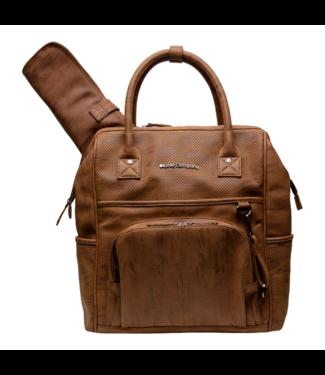Little Company Petite entreprise Riga Perfo Cognac sac à dos de toilettage