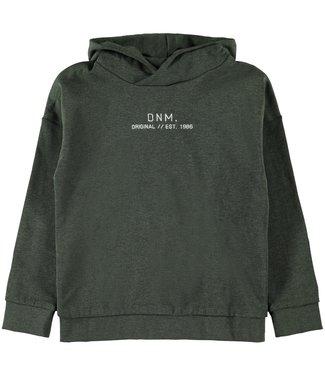 Name-it Name t green boys sweater + hood Leam