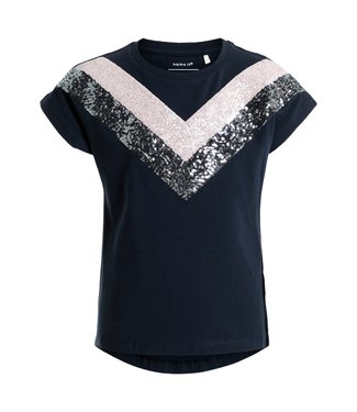 Name-it T-shirt Name-it filles Kristbjorg Dark Sapphire
