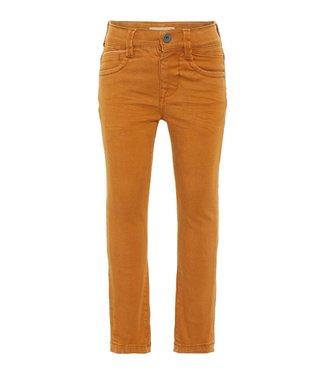 Name-it Name it bruine jongens jeans Theo Twicasper Cathay spice
