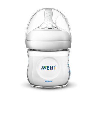 Avent Philips Avent Natural baby bottle - SCF030 / 27 baby bottle 0m + for slow supply