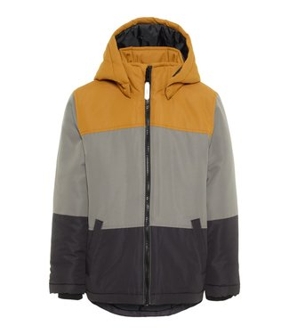 Name-it Name it boys winter jacket MAX color block