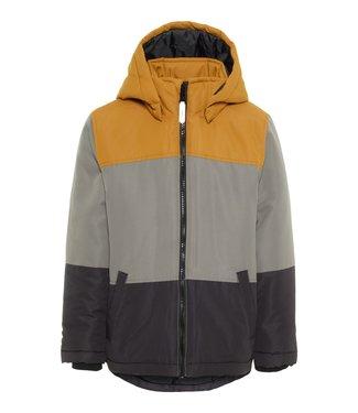 Name-it Name it jongens winterjas MAX colour block