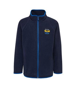 Lego wear Legowear blue fleece cardigan LwSiam 661