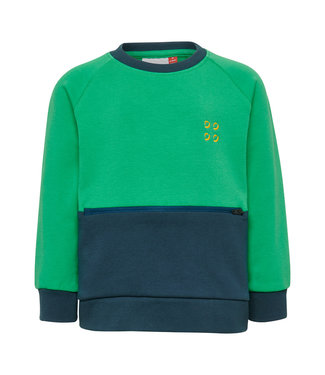 Lego wear Legowear groene Duplo Sweater hidden detail