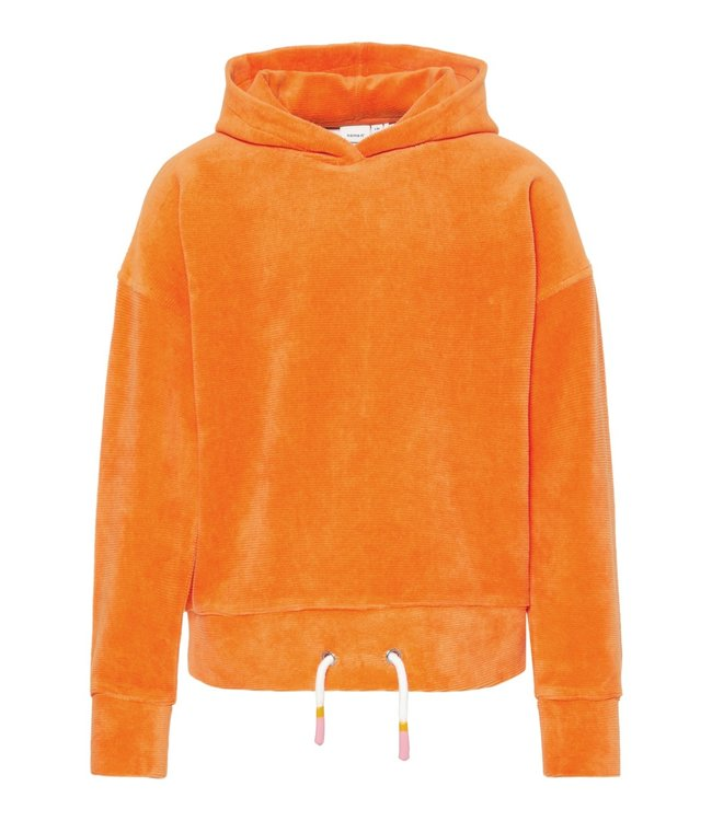 Name-it Name-it meisjes sweater Olene Mandarin Orange