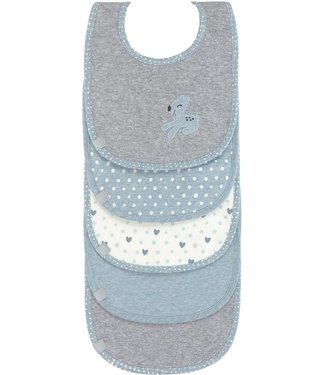 Lassig Lassig Bib 5-piece Lela Light Blue