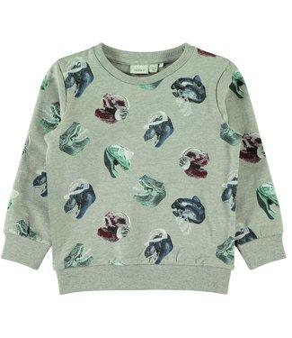Name-it Name-it boys sweater Nate Gray Melange