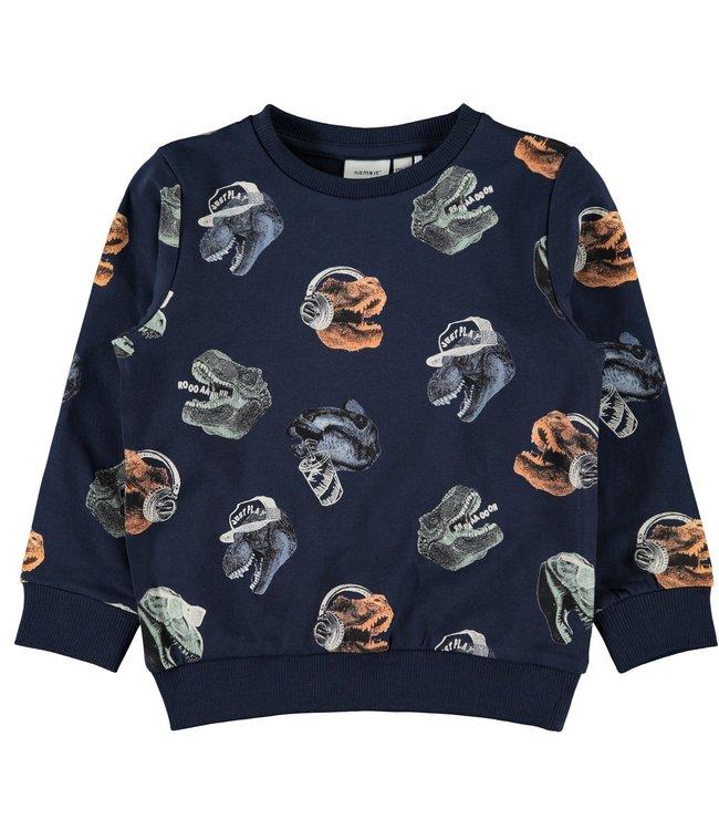 Name-it Name-it boys sweater Nate Dark Sapphire