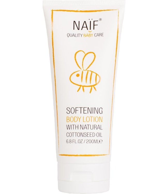 Naïf Lait corporel apaisant Naïf - pour bébé et enfants - 200 ml