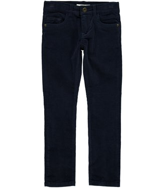 Name-it Name-it blue boys velvet winter trousers Robin