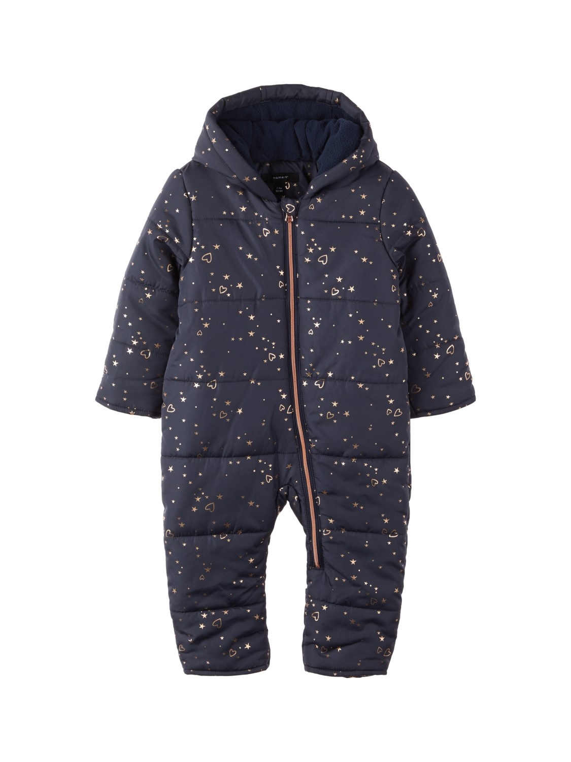 Costume d'hiver pour filles Name-it NBFMIA Dress Blues 74/80