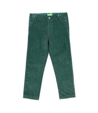 Lily Balou Lily Balou Noah velor pants Dark Green
